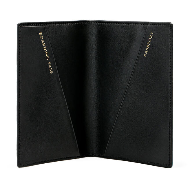 Passport Cover in Smooth Leather