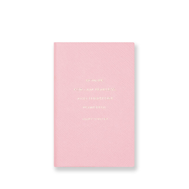 Beware For I Am Panama Notebook Candy Pink