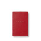 Ho Ho Ho Wafer Notebook