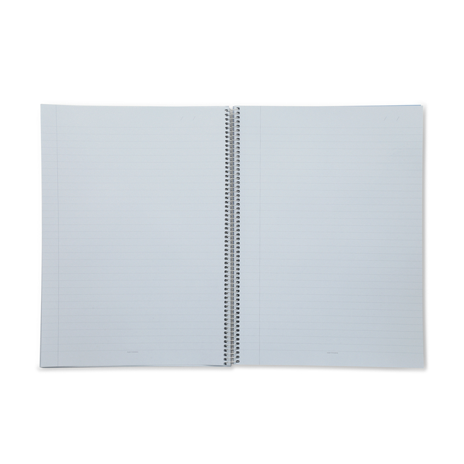 A5 Silver Spiral Bound Refill Pad