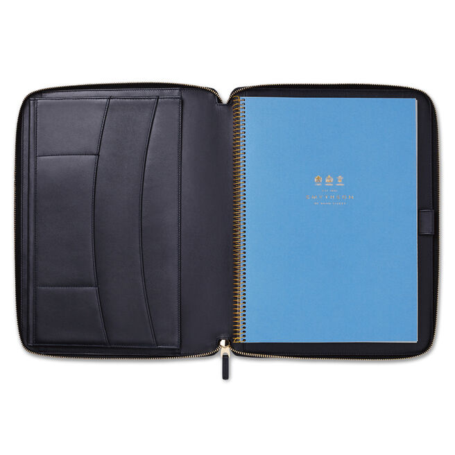 Panama A4 Zip Writing Folder