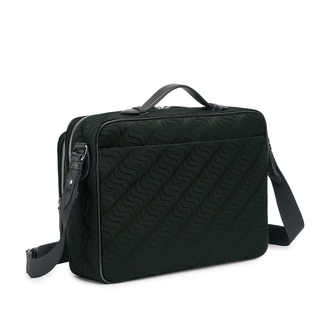 'S' Monogram Organiser Messenger Bag