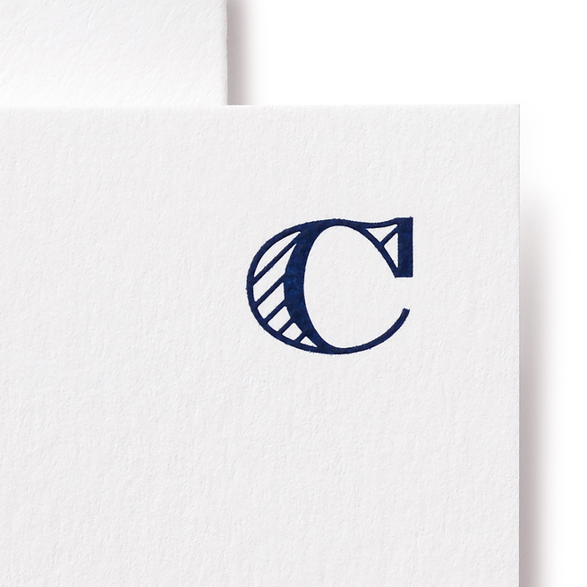Biglietti lettera C