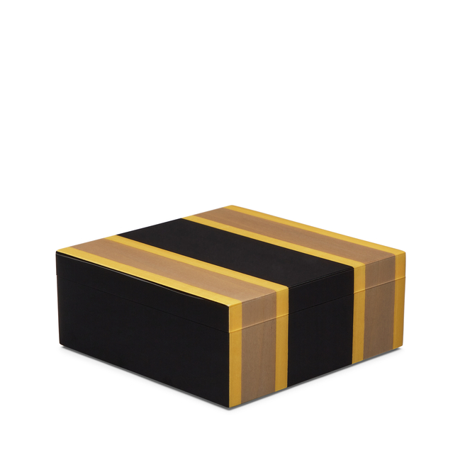 Marquetry Square Trinket Box