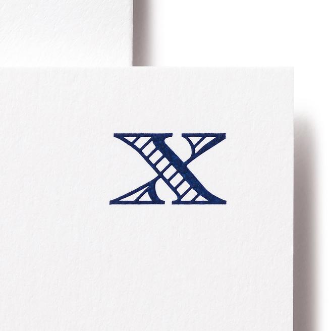 アルファベットカード セットX