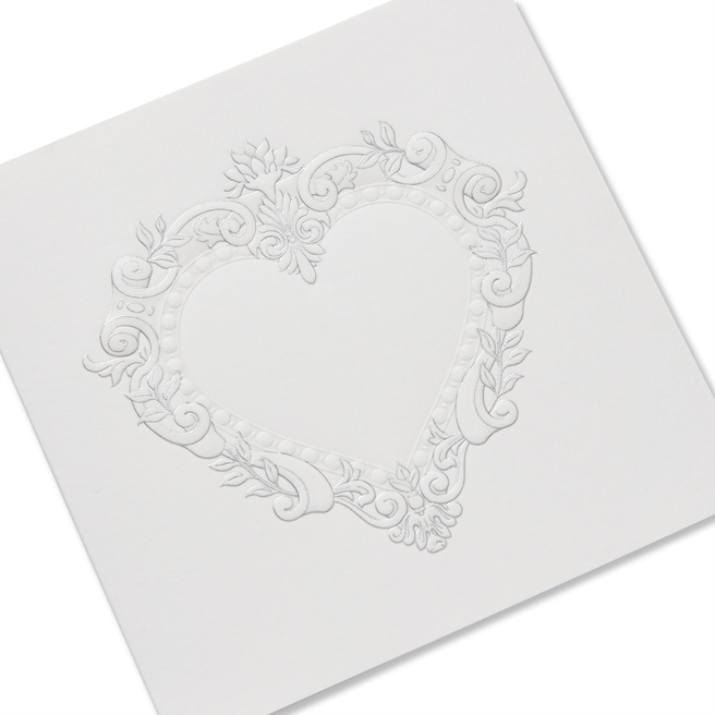 Stucco Heart バレンタインカード