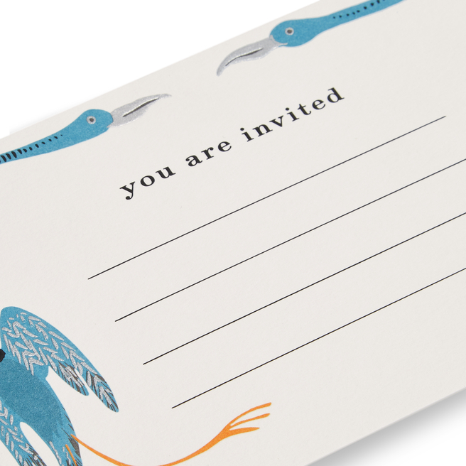 Bird Invitation Cards