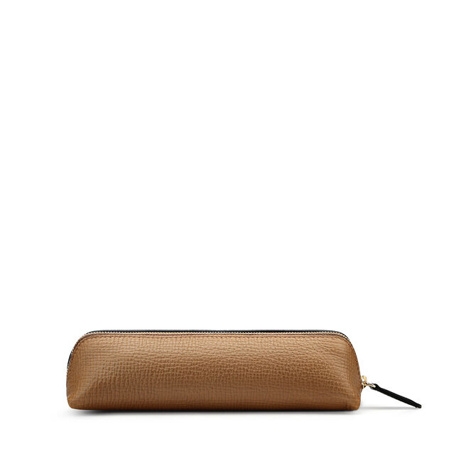 Pencil Case in Large Grain Leather