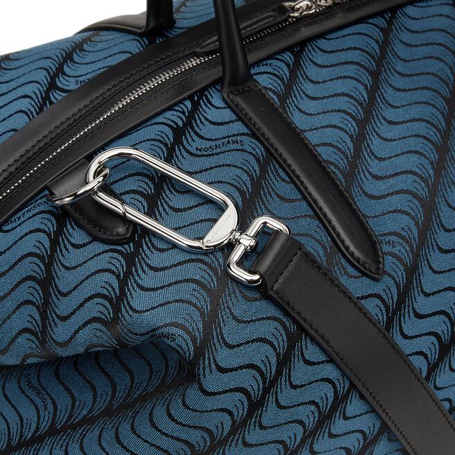 S Monogram Zip Guard Travel Bag