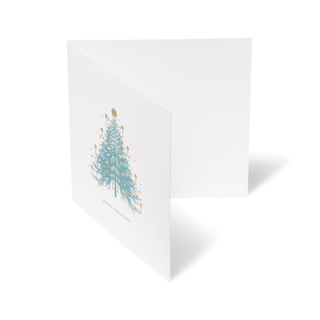 Christmas Fir Tree Christmas Card