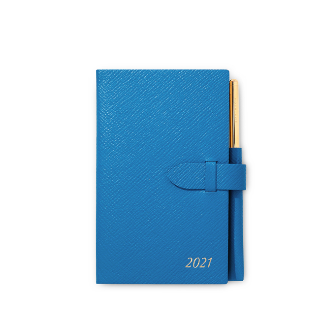 2021 Panama Diary with Gilt Pencil