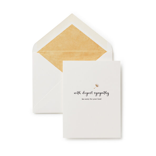With Deepest Sympathy Card