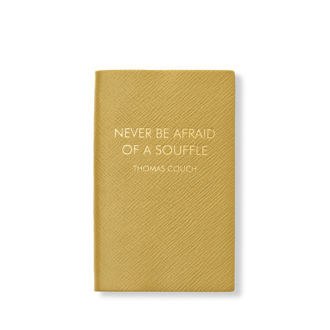 Never Be Afraid of a Soufflé Panama Notebook