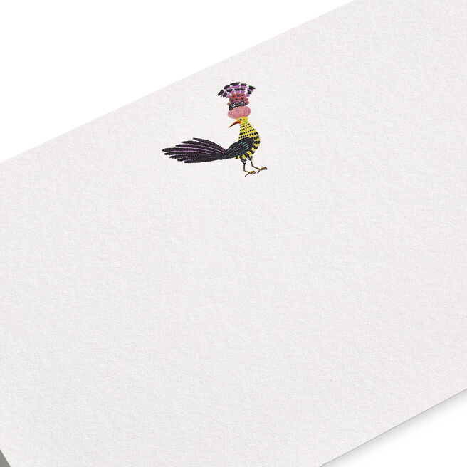 Bird with Crown Correspondence Cards