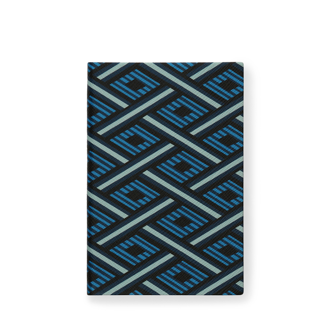 Diagonal Print Chelsea Notebook