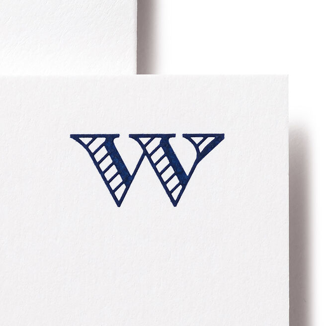 W Alphabet Cards