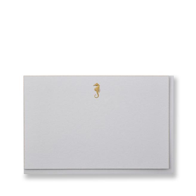 Seahorse Correspondence Cards