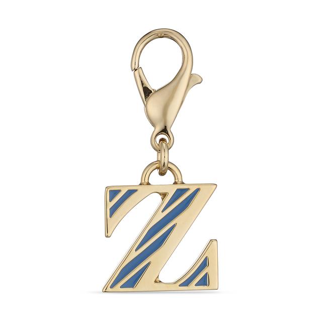 Park Avenue Z Alphabet Charm Nile Blue