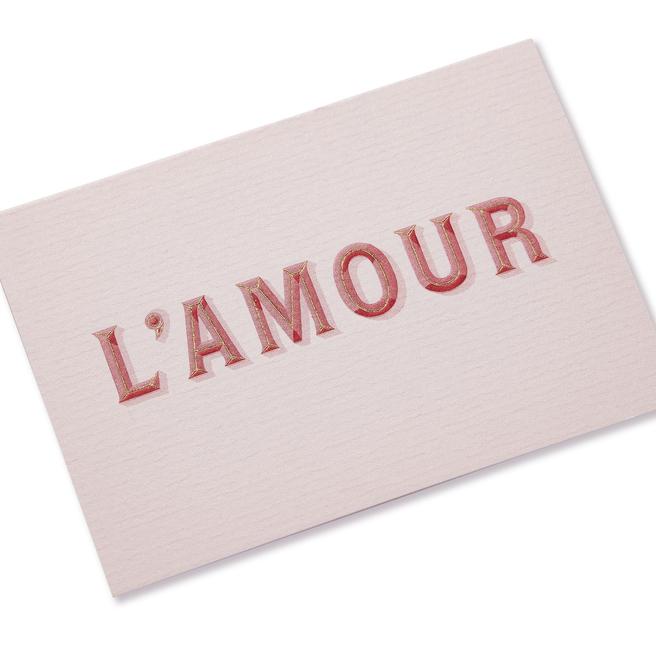 L'Amour バレンタインカード S