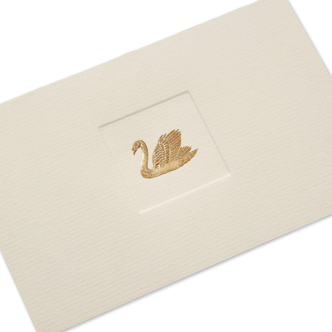Swan Motif Notelets