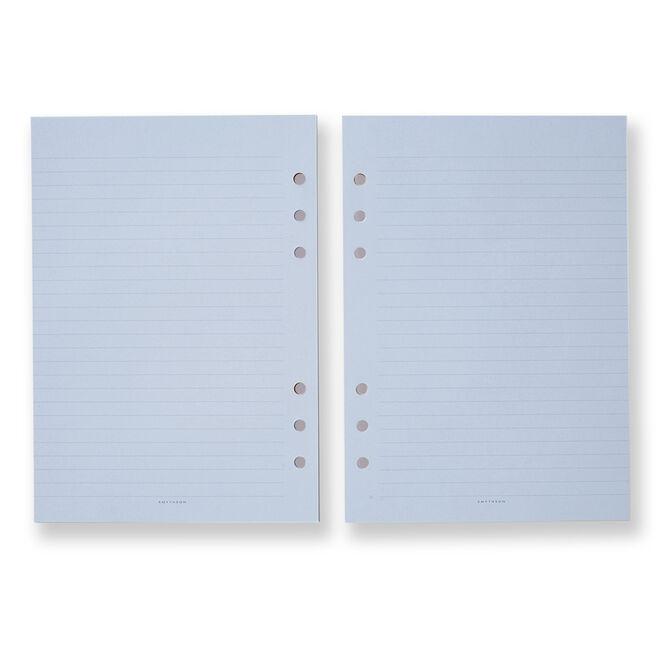 Dukes Organiser Notes Refill Pale Blue