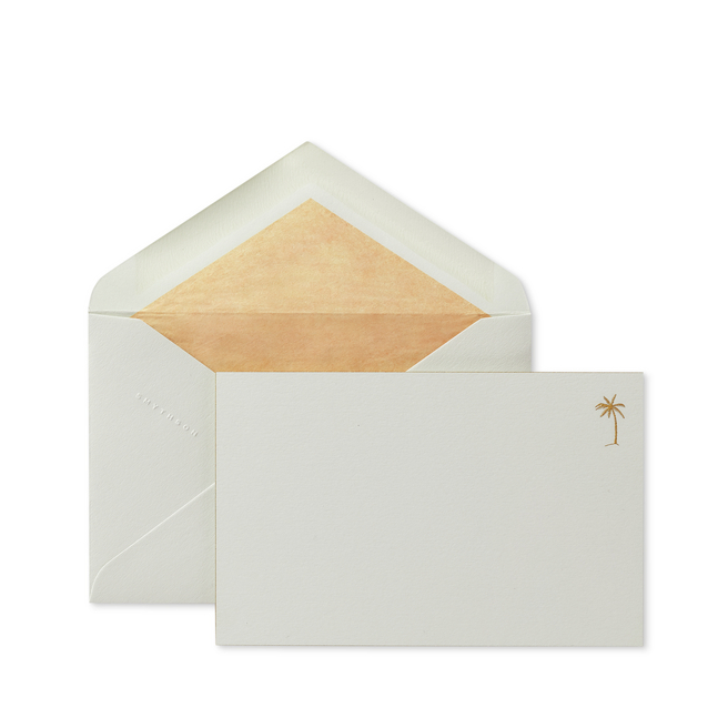 Iconic Palm Tree Correspondence Cards