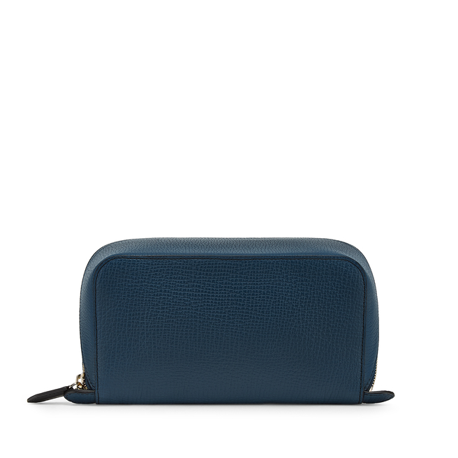 Ludlow Small Diagonal Zip Washbag