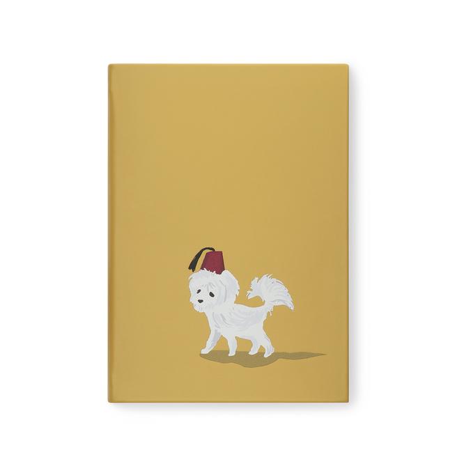 Dog Fez Soho Notebook