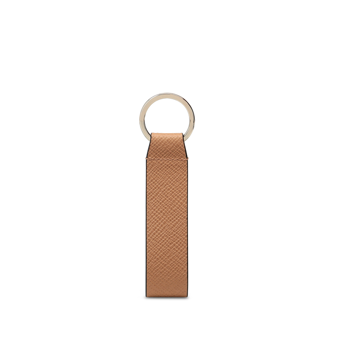 Panama Leather Strap Keyring