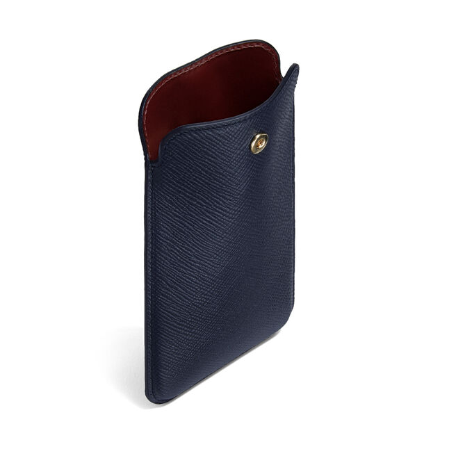 check out 2f1c3 8193a Leather Iphone Case | Smythson