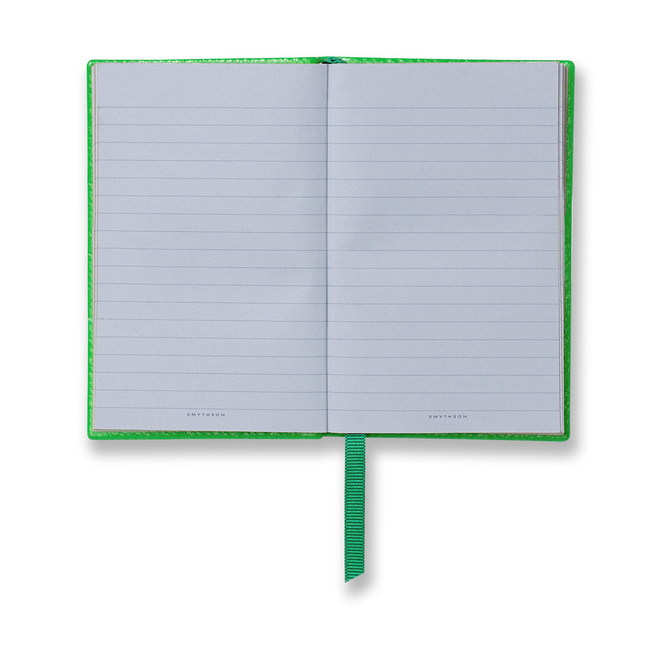 At Sixes And Sevens Wafer Notebook Emerald
