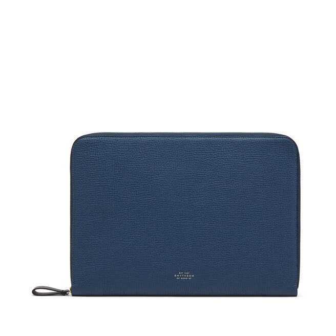 "13"" Laptop Case in Large Grain Leather"
