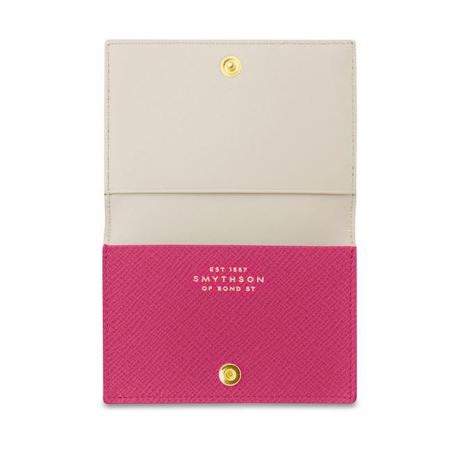 Panama Business Card Case Fuchsia
