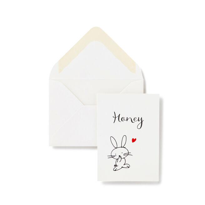 Honey Bunny Card