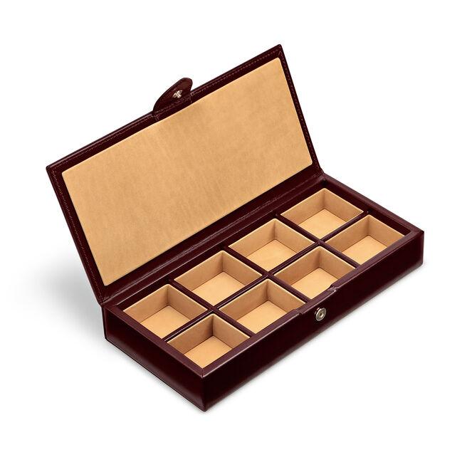 Cufflink Box in Box Calf Leather