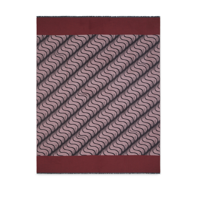 'S' Monogram Cashmere Travel Blanket Scarf