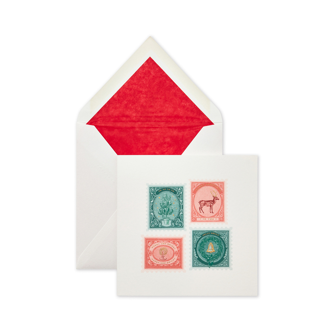 Stamps Christmas Cards