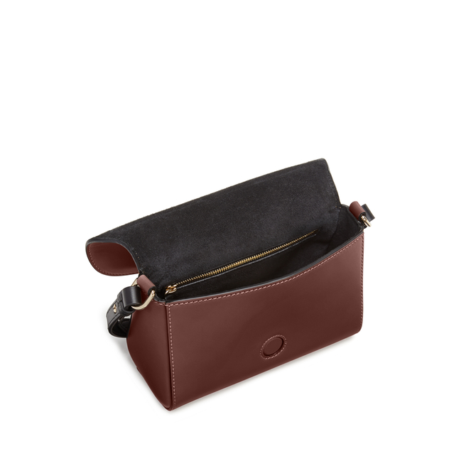 Equestrian Crossbody Bag in Saddle Leather