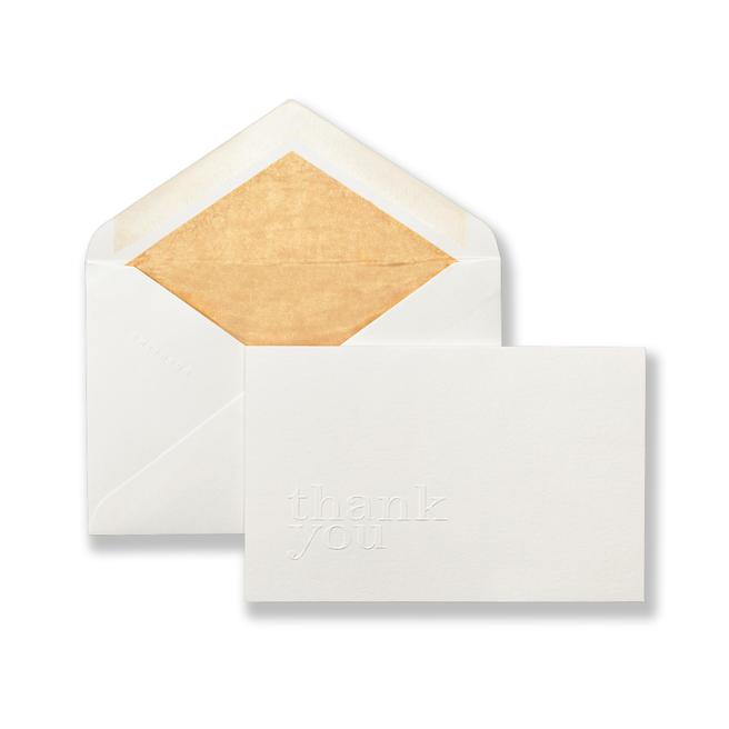 Cartes-Lettres «Thank You»