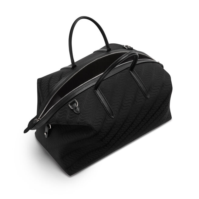 'S' Monogram Zip Guard Travel Bag