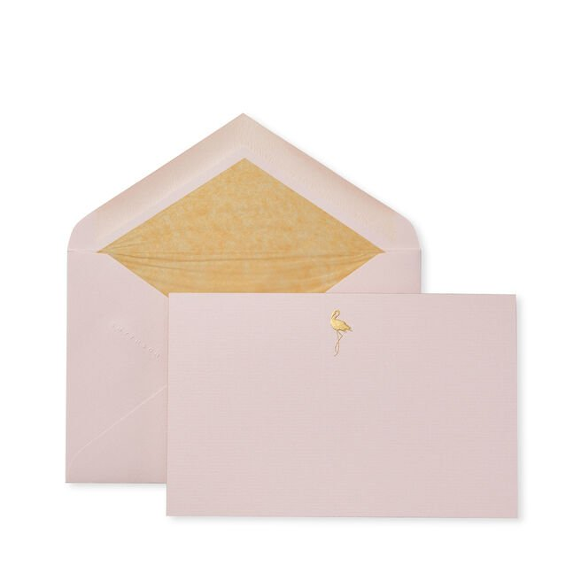 Flamingoes Correspondence Cards