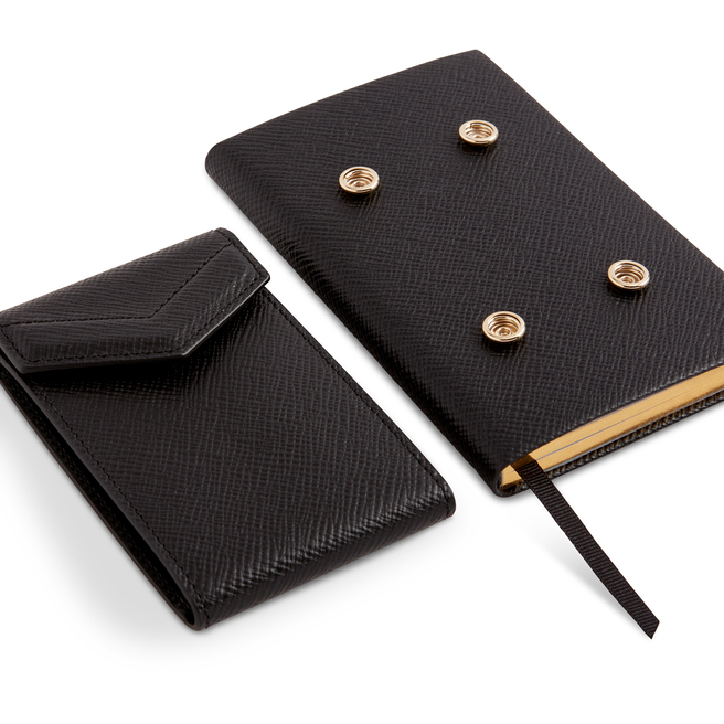 Panama Envelope Card Case With Book