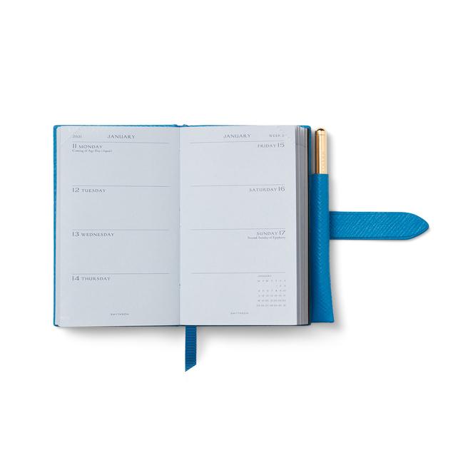 2021 Wafer Agenda with Gilt Pencil