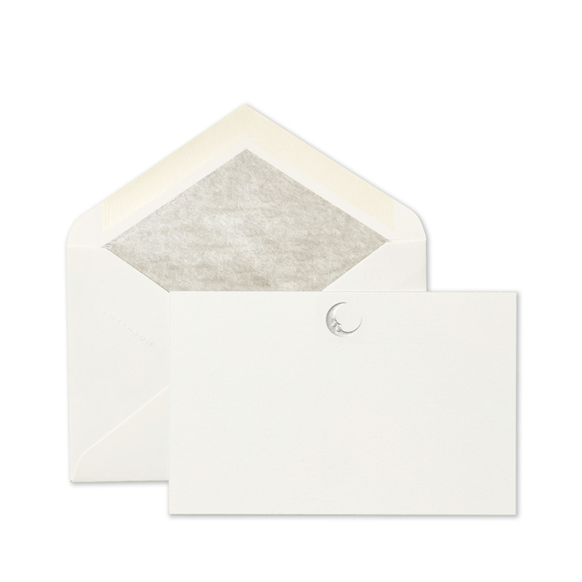 Iconic Moon Correspondence Cards