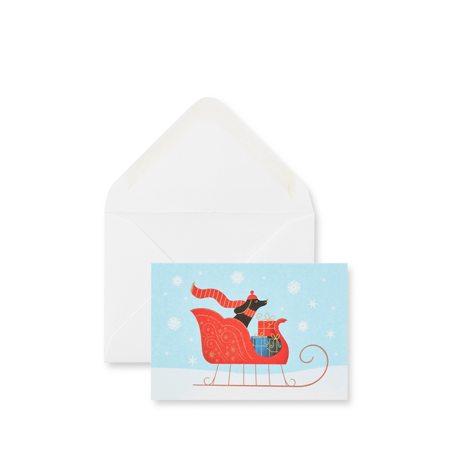 Sleigh Ride クリスマスカードセット