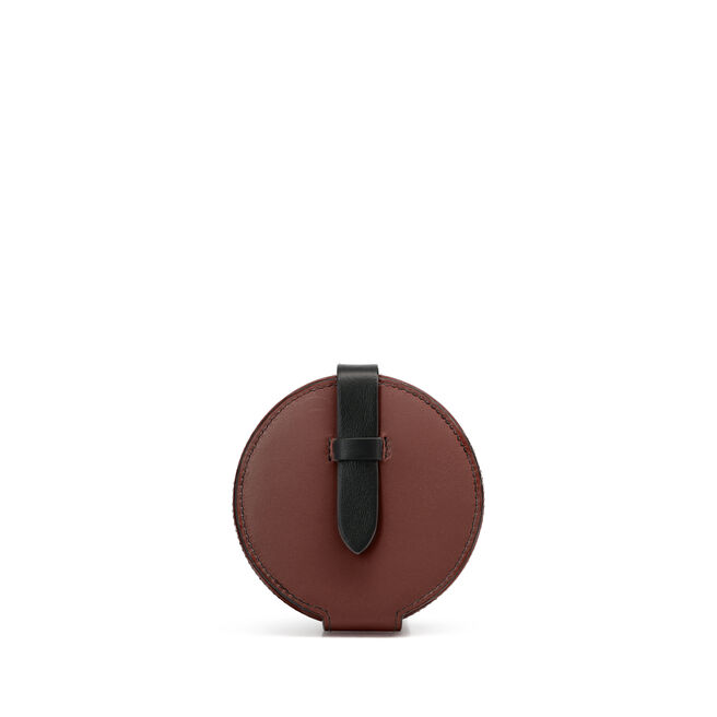 Circle Coin Purse in Smooth Leather
