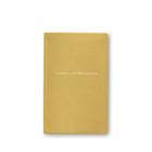 Herein Lies Brilliance Panama Notebook