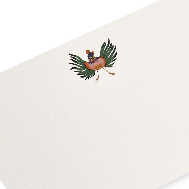 Flying Bird Correspondence Cards