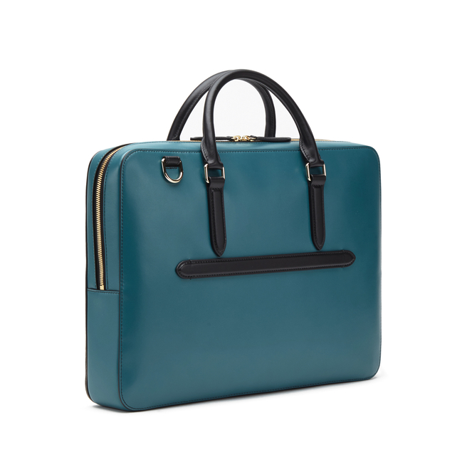 Bond Briefcase with Zip Front