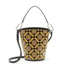 Intarsia Madison Equestrian Bucket Bag